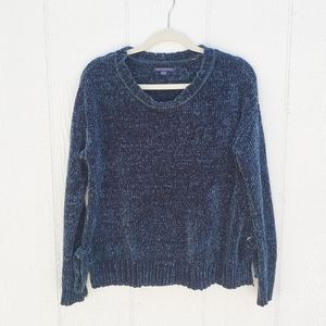 American Eagle Emerald Knitted Side Tie Sweater